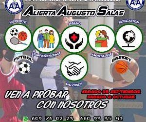 ¡ANÍMATE A PROBAR LOS ENTRENAMIENTOS DE FÚTBOL Y BALONCESTO DE LA AGRUPACIÓN DEPORTIVA!